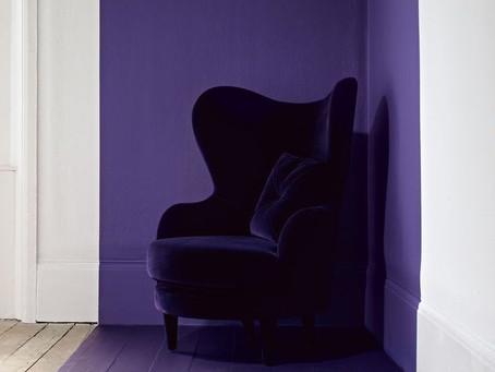 Comment intégrer la couleur Pantone Ultra-violet dans votre intérieur?