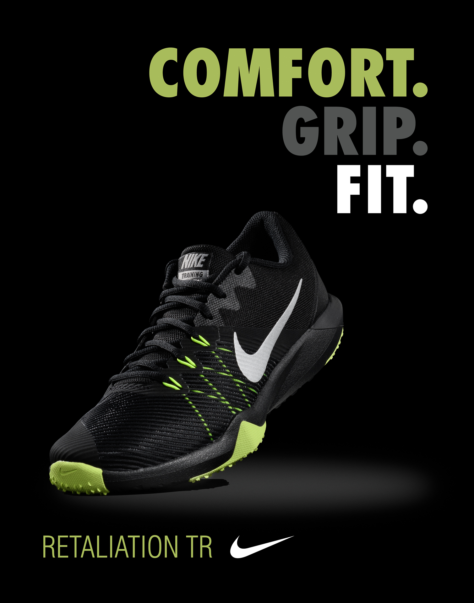 Imagined Nike Ad Design Exercise