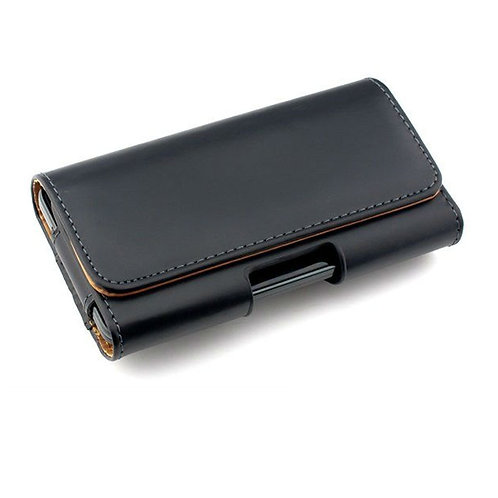 Leather Carrying Case w Belt Clip