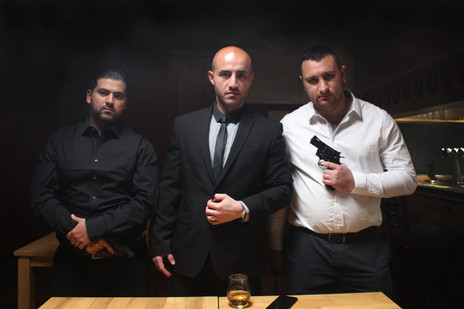 Ramzi Issa, Elshan Amaan and Aram Armaghanian, three formidable gangsters