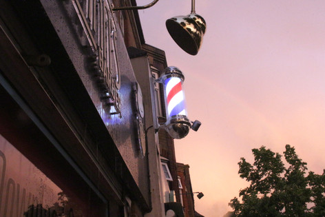 Sunset at the barbers