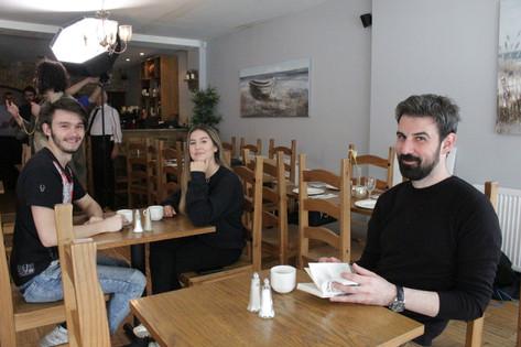 Vlad Ghilas, Emily Michael and Samis Chatziiliadis