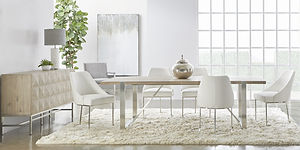 Gage Extension Dining Table - Natural Gr