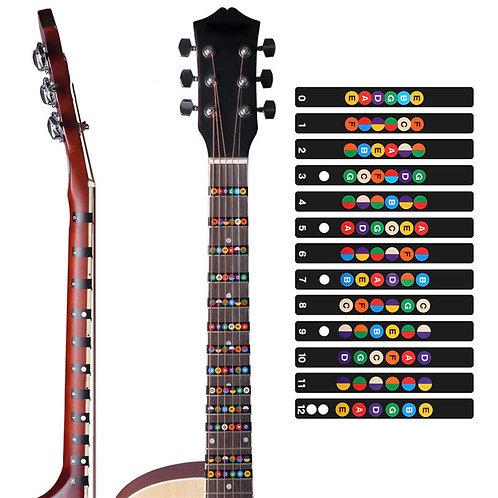 Stickers til guitar
