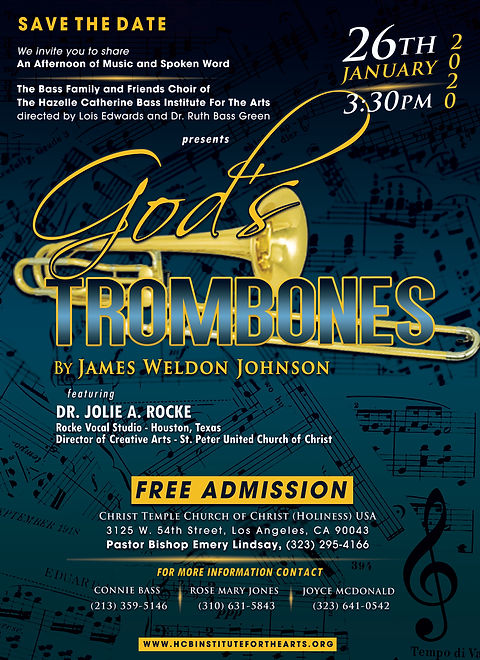 God's Tromones by James Weldon Johnson.j