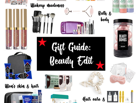 Gift Guide: Beauty Edit