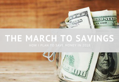 The March to Savings