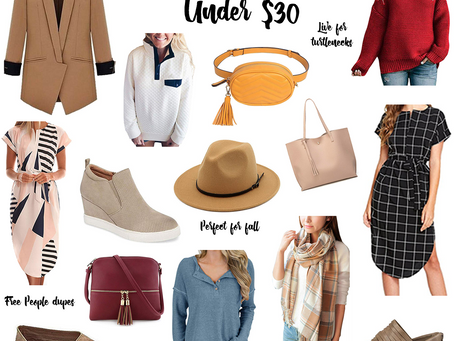 Amazon Fashion Finds Under $30