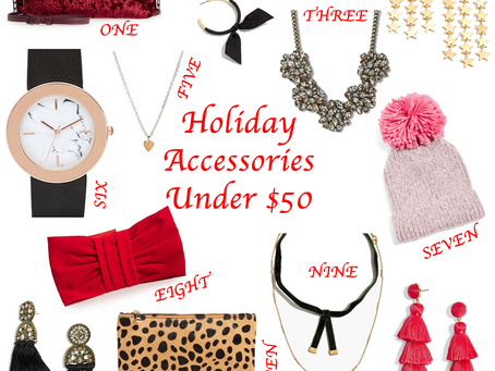 Holiday Accessories Under $50