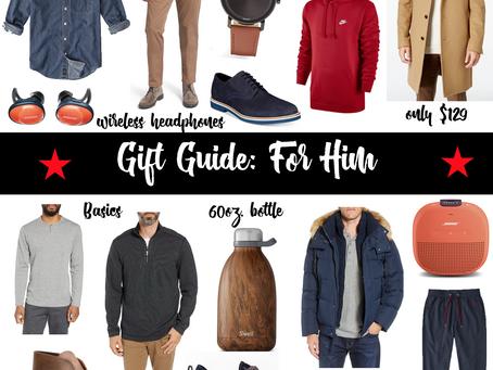 Gift Guide: For Men
