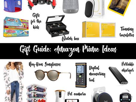 Gift Guide: Amazon Prime Ideas