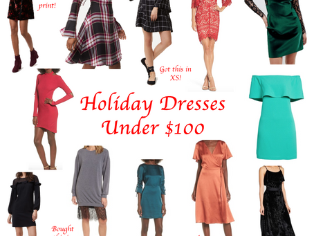 Dressing for the Holidays: Under $100