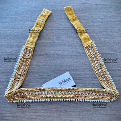 Saree Waist Belt with Pearls