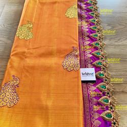 Bridal Saree Pallu Design