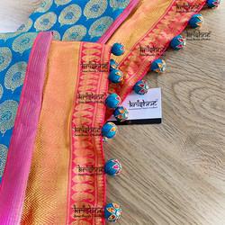 Saree Potli Tassel Design