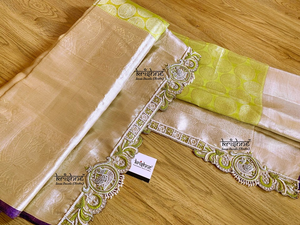 Bridal Saree Pallu Design