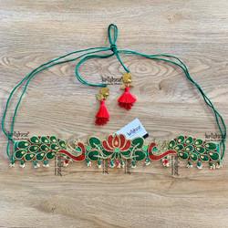 Peacock Hip Belt for Saree & Lehenga