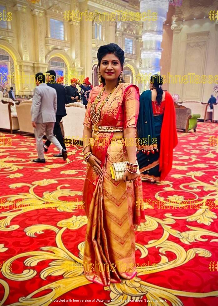 Lakshmi Coin Saree Belt