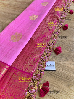 Bridal Saree Kuchu Design