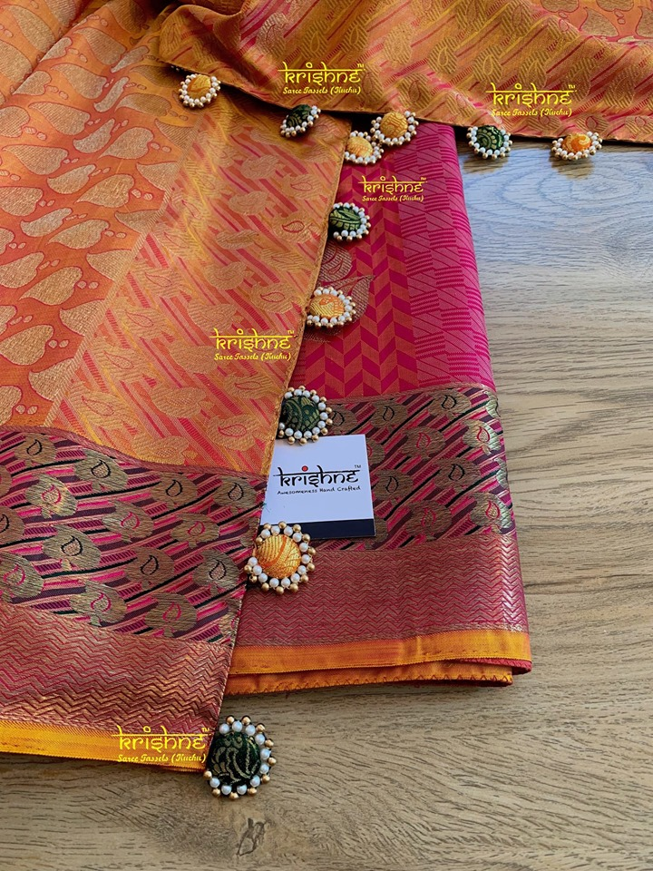 Button Saree Kuchu