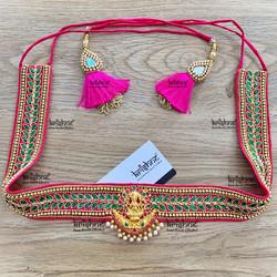 Maggam Work Saree Waist Belts 0
