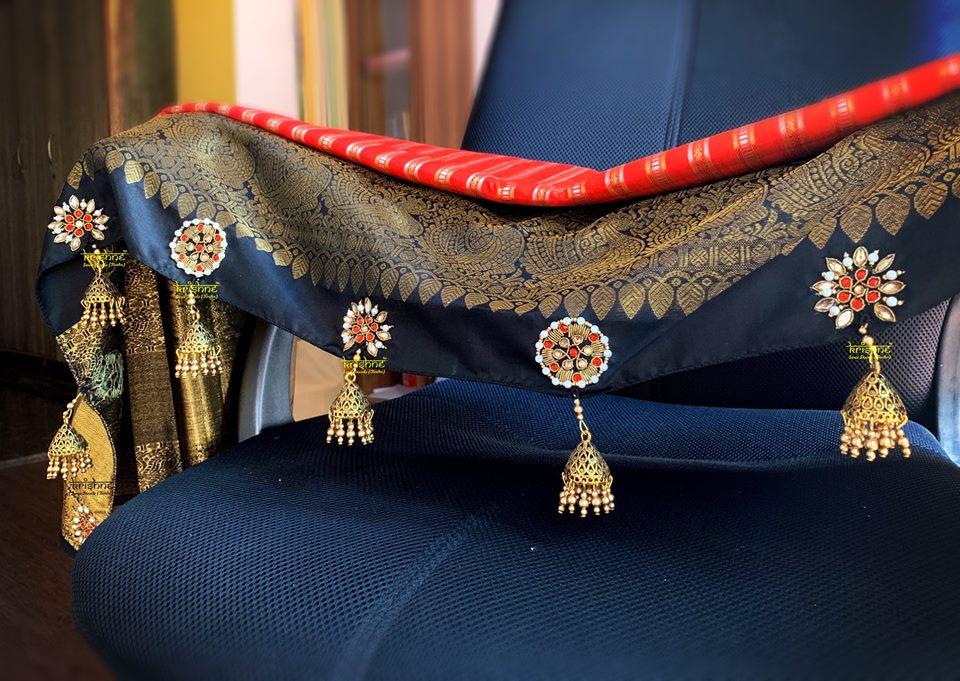 Jumki Saree Kuchu Design