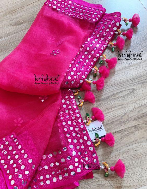 Saree Pallu Lace Hangings