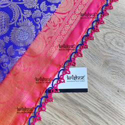 Tatting Saree Kuchu
