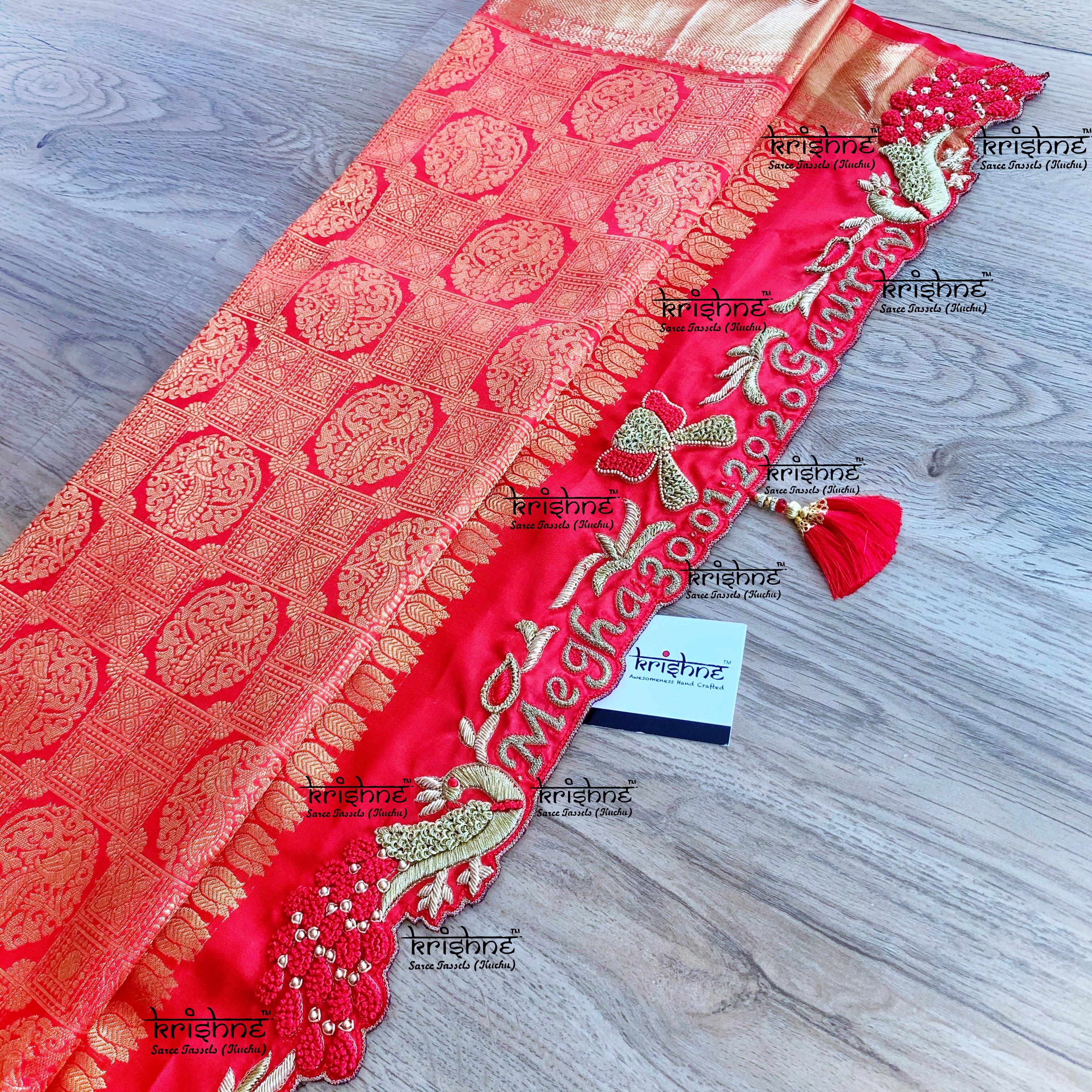 Bridal Saree Pallu Tassels