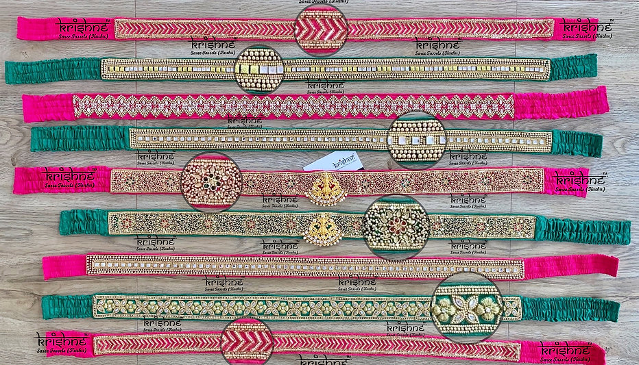 Maggam Work Fabric Hip Belts.JPG