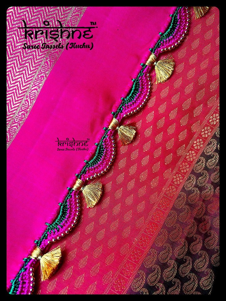 Saree Tassel Lace