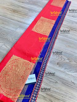 Tatting Saree Pallu Design