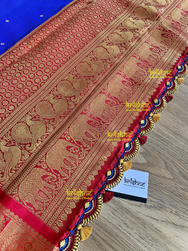 Crochet Saree Kuchu