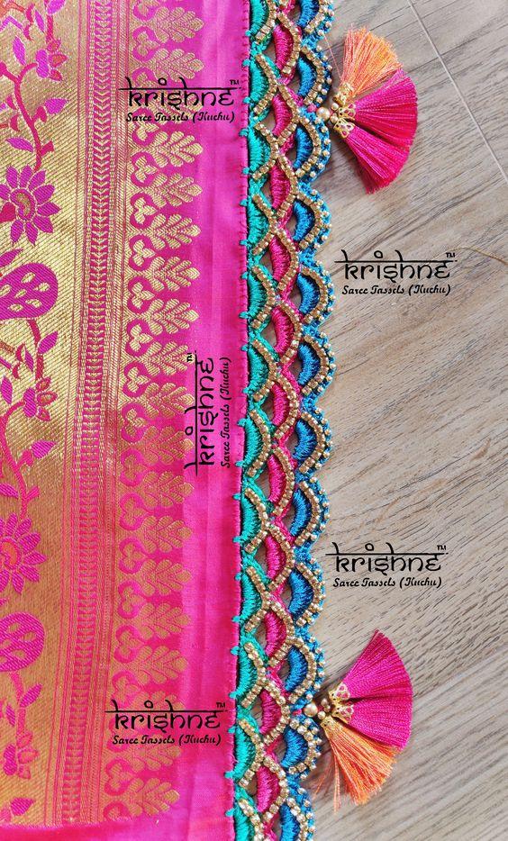 Saree Kuchu Lace Designs