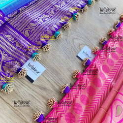 Beaded Potli Saree Tassel