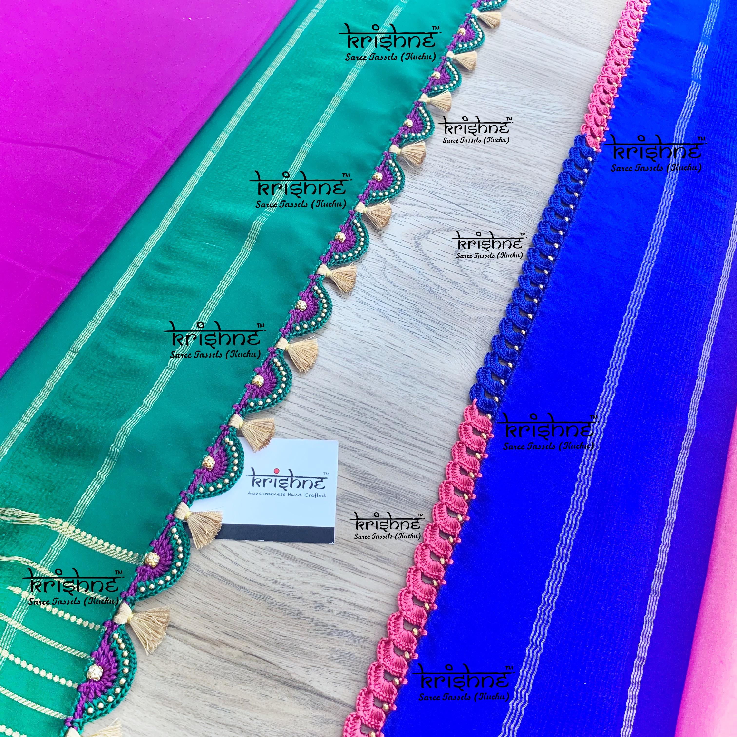 KSIC Crochet Saree Kuchu Tassels
