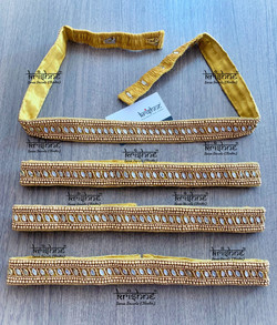 Gold Waist Belt for Saree & Lehenga