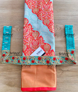 Zardosi Work Saree Waist Belt