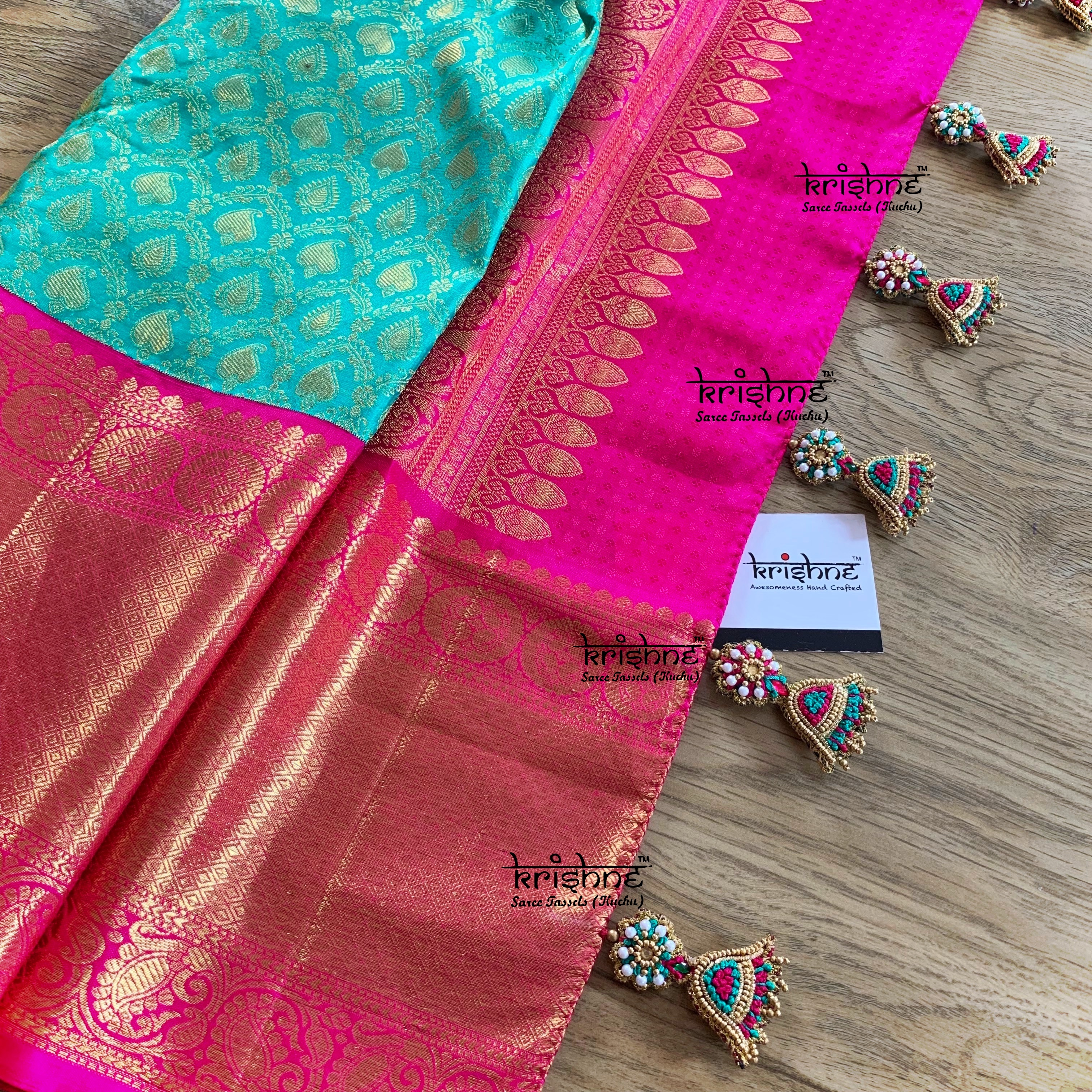 Jumki Saree Kuchu Design