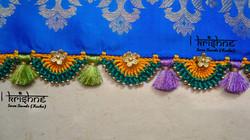 Crochet Saree Kuchu