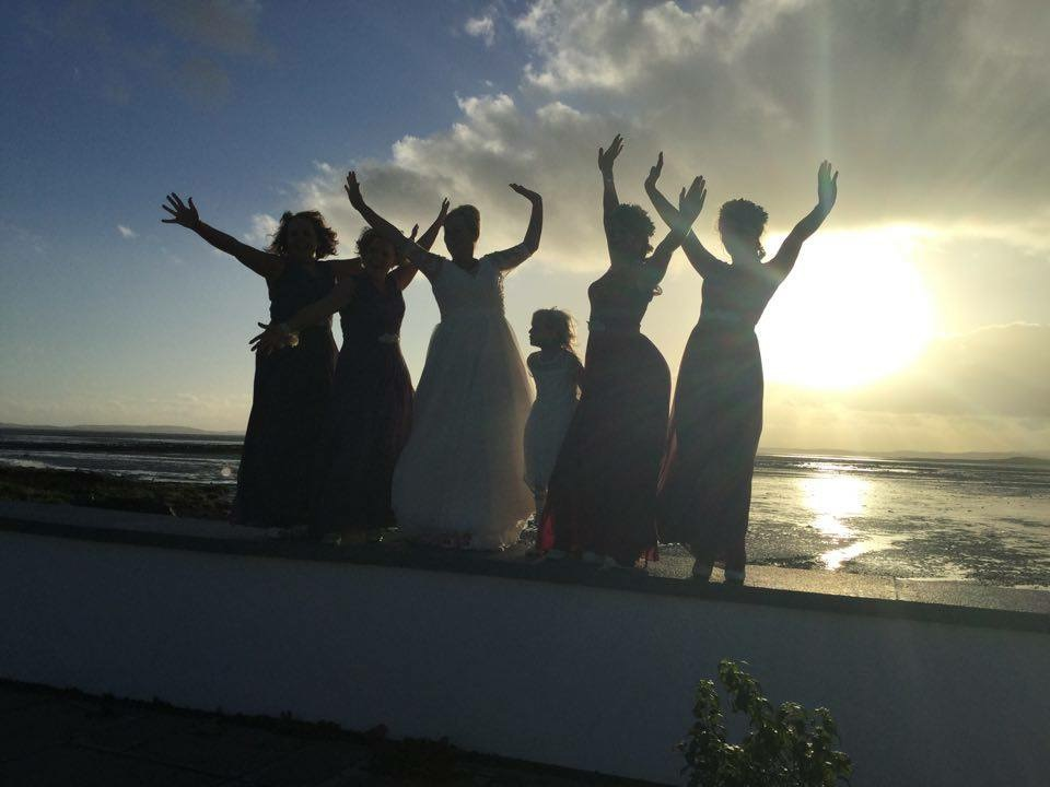 Bridal Party by Lough
