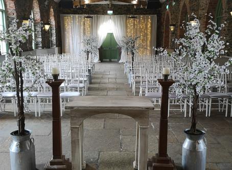 A gorgeous Ceremony setup.
