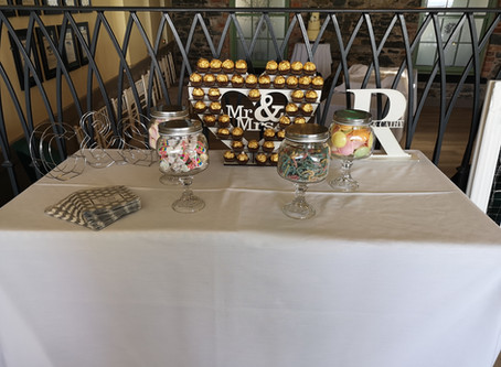 Sweetie tables always go down a treat!