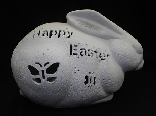 Rock Rabbit with message