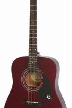 Epiphone Pro-1 Akustik Gitar Wine Red
