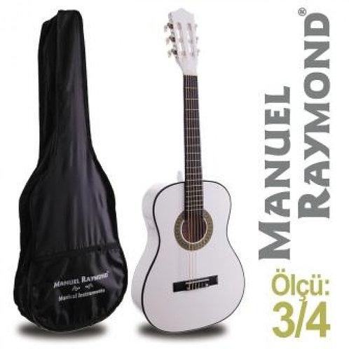 Klasik Gitar Junior Raymond MRC87WH (KILIF HEDİYE)