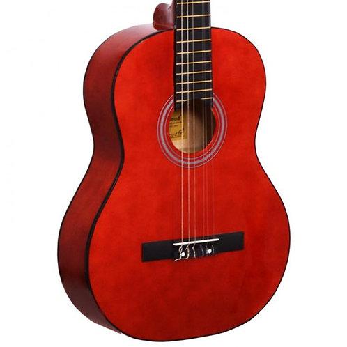 Gitar Klasik Manuel Raymond Kırmızı MRC375WRD