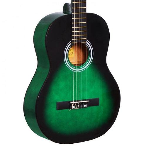 Gitar Klasik Manuel Raymond Yeşil MRC375GRS Gitar