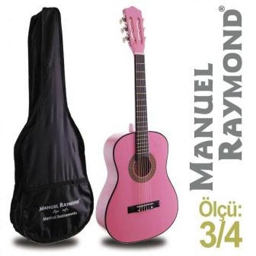 Klasik Gitar Junior Klasik Manuel Raymond MRC87PNK