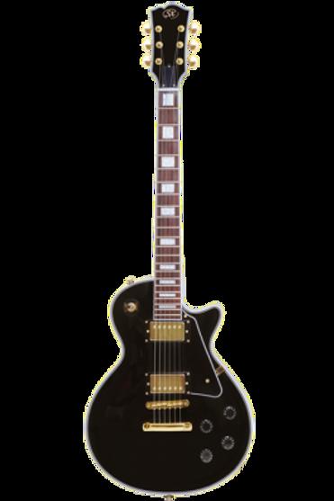SX EH3 BK Les Paul Siyah Elektro Gitar